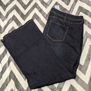 NWT Torrid Slim Boot Cut Jeans - Dark Wash